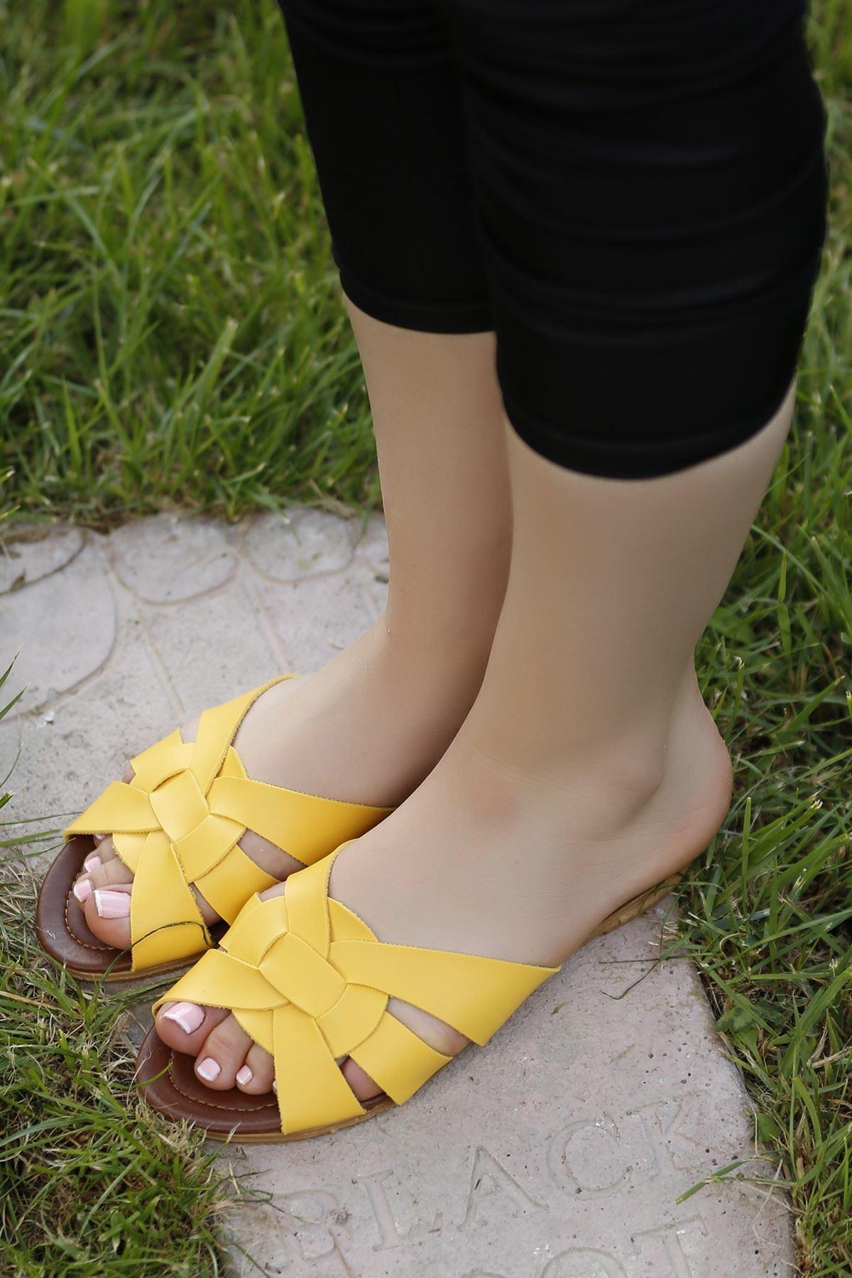 Terlik Sarı - 4222.264.