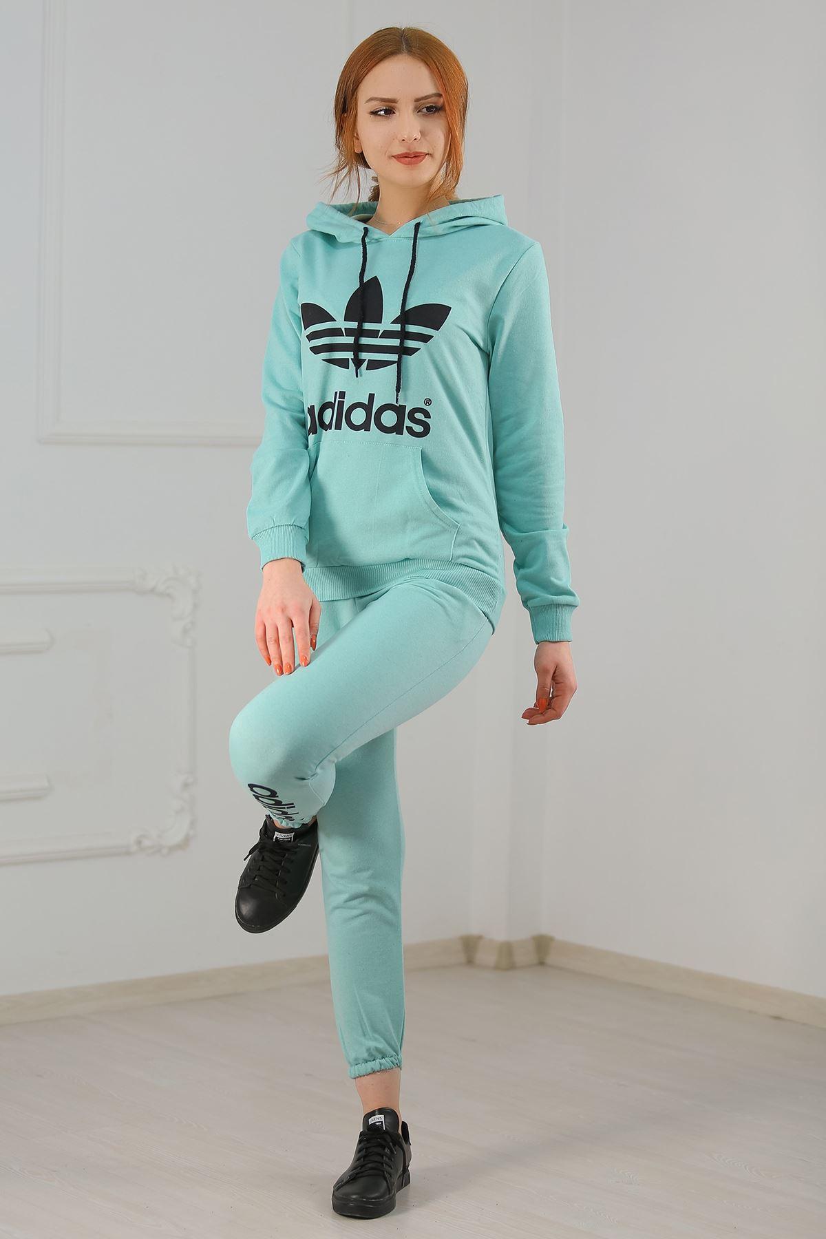 Kadın Eşofman Takımı Mint - 21013.1059.
