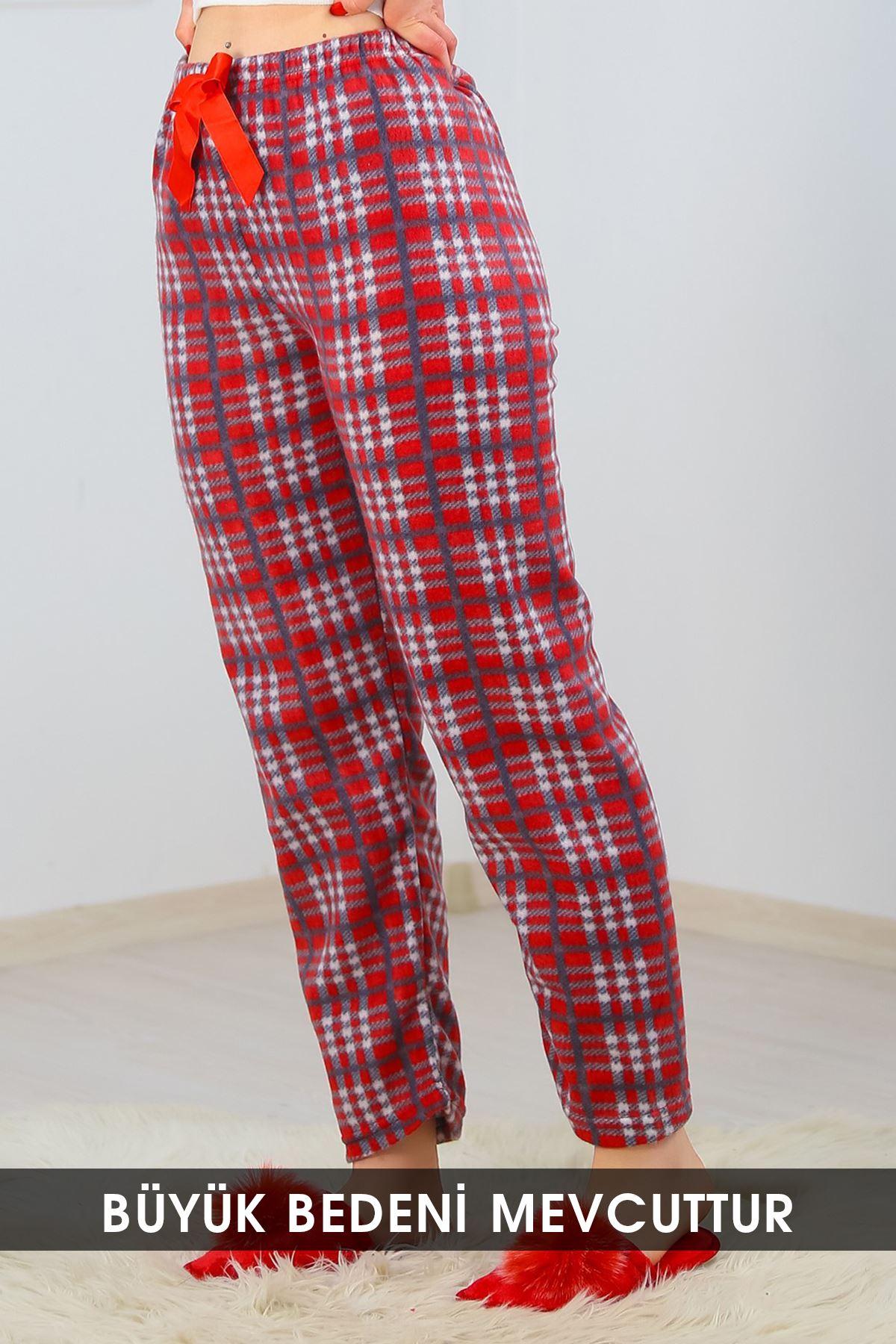 Polar Pijama Altı Karelikırmızı - 4570.919.