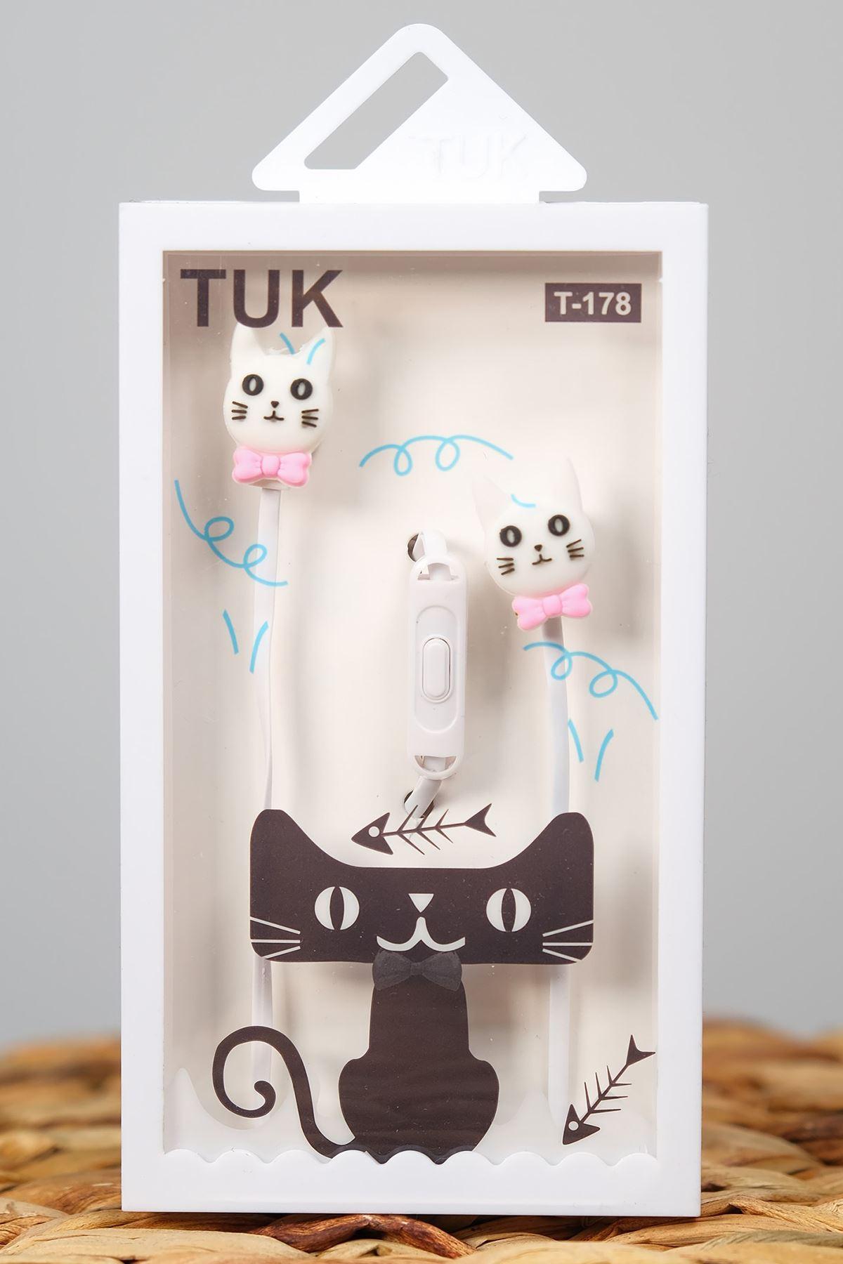 Kedili Kulaklık Beyaz - 4928.1100.