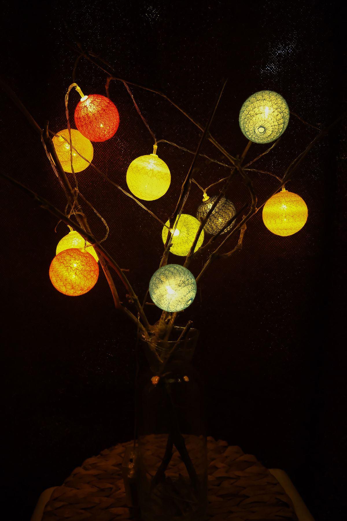 Ledli Top Işık Karışık - 4942.1342.