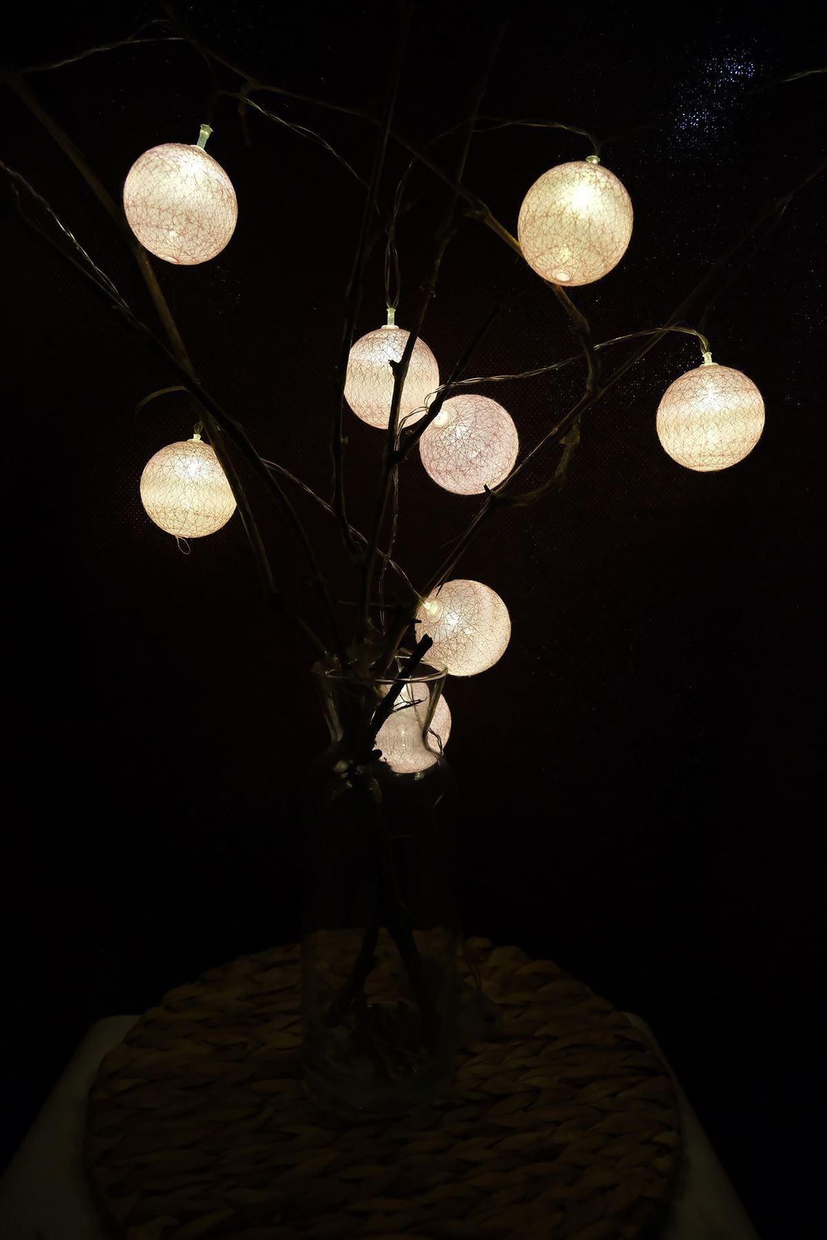 Ledli Top Işık Pembe - 4942.1342.
