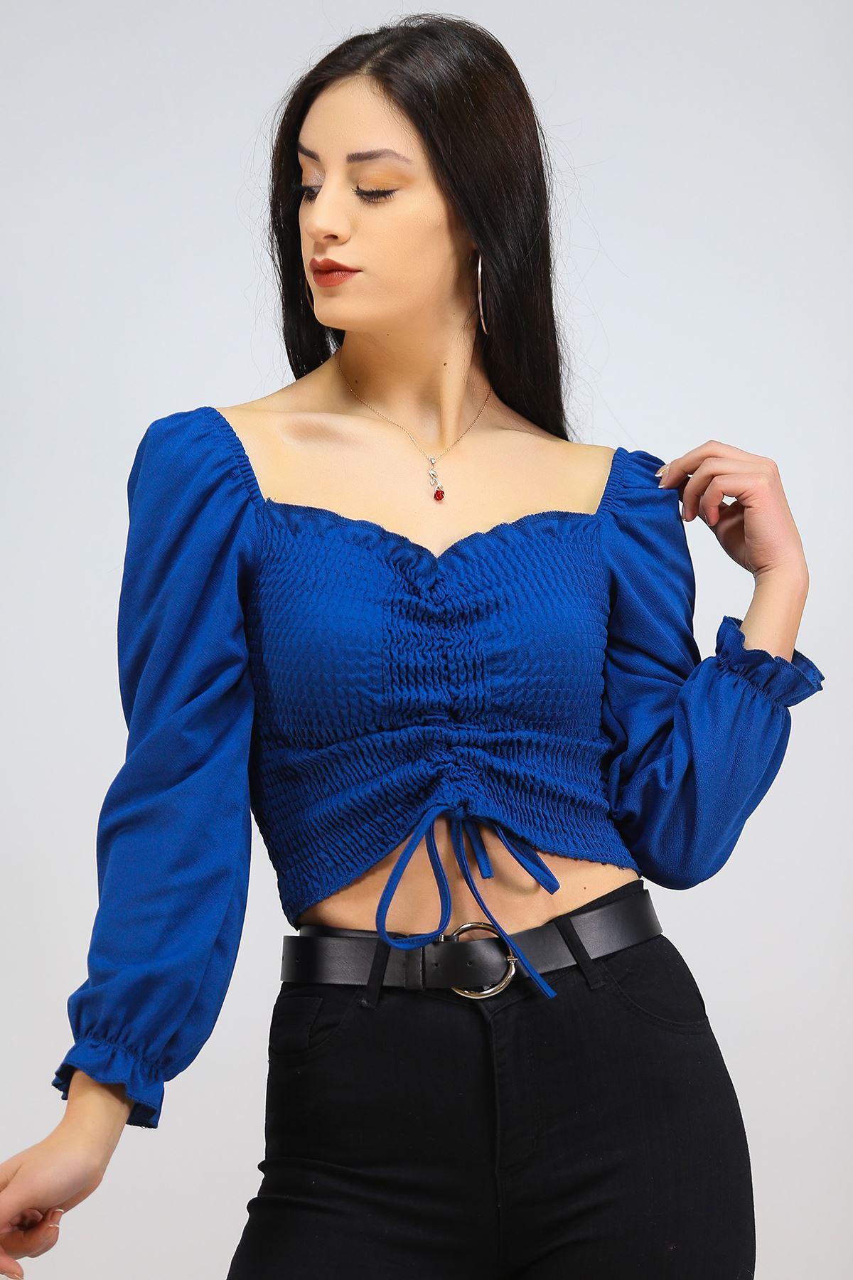 Gipeli Bluz Mavi - 8086.1234.