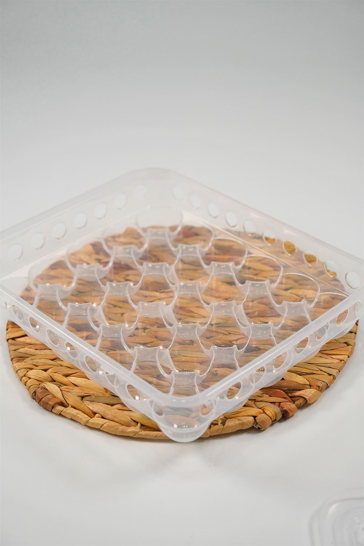 Yumurta Saklama Kabı Şeffaf - 4950.1343.