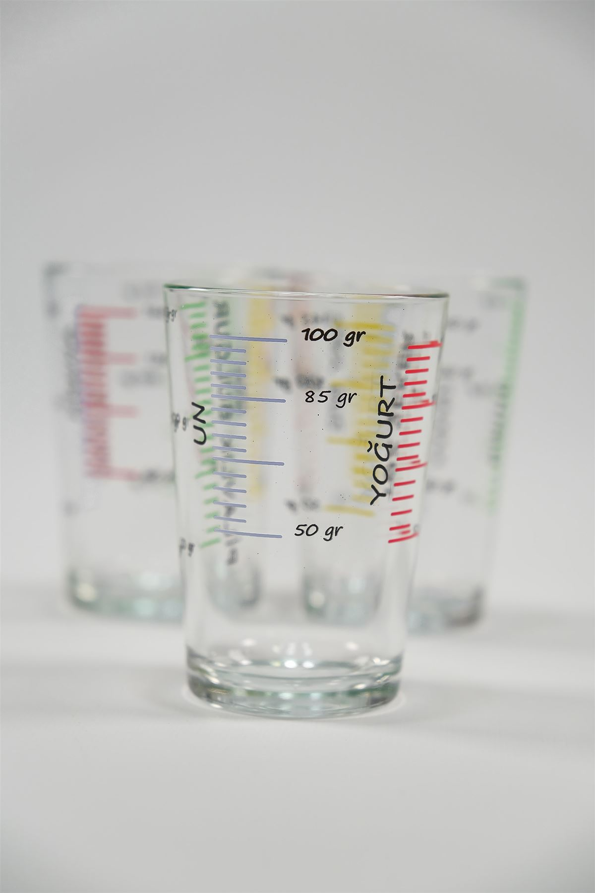 3'Lü Ölçü Bardağı Şeffaf - 4951.1343.