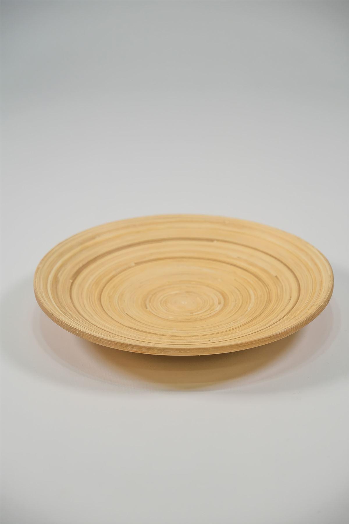 Bambu Yuvarlak Tabak 01 - 4962.1343.