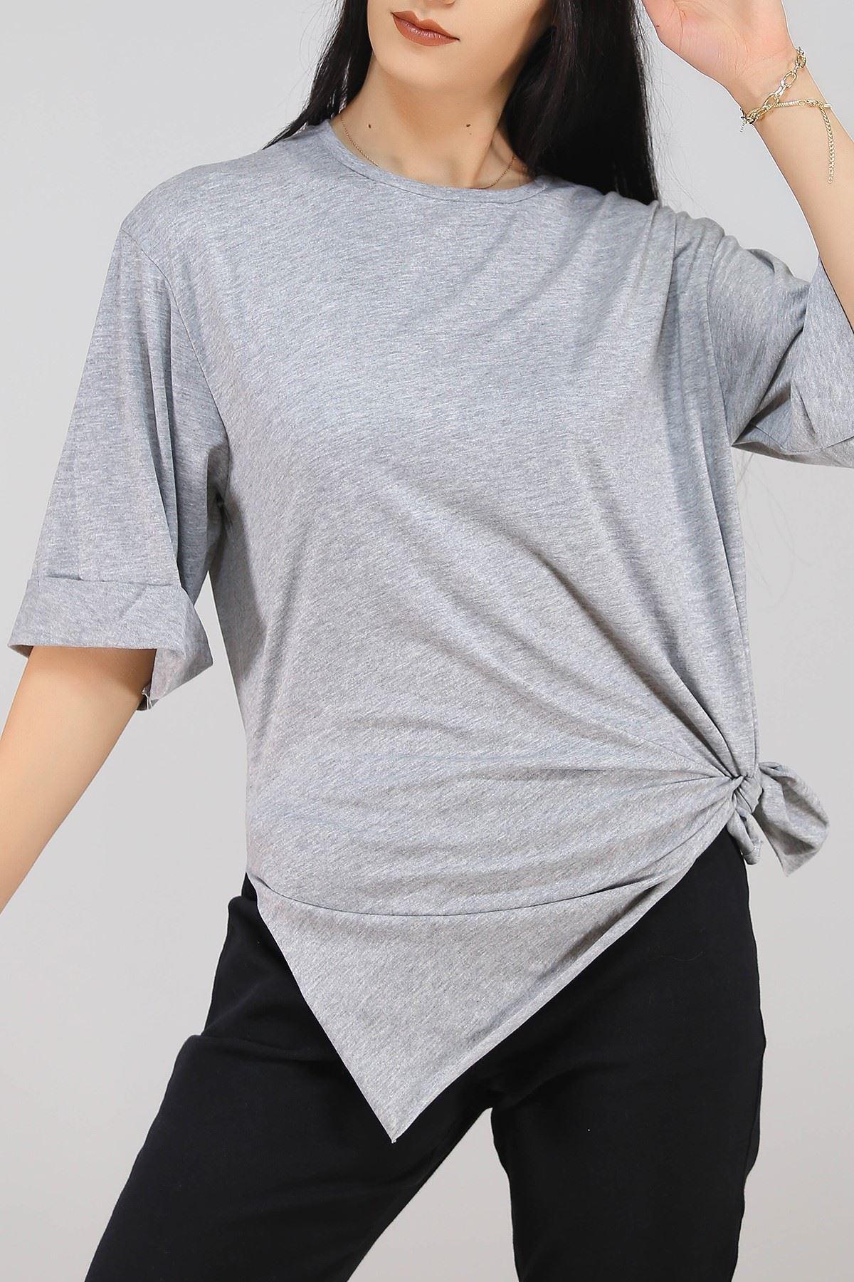 Süprem Salaş Tshirt Gri - 2946.222.