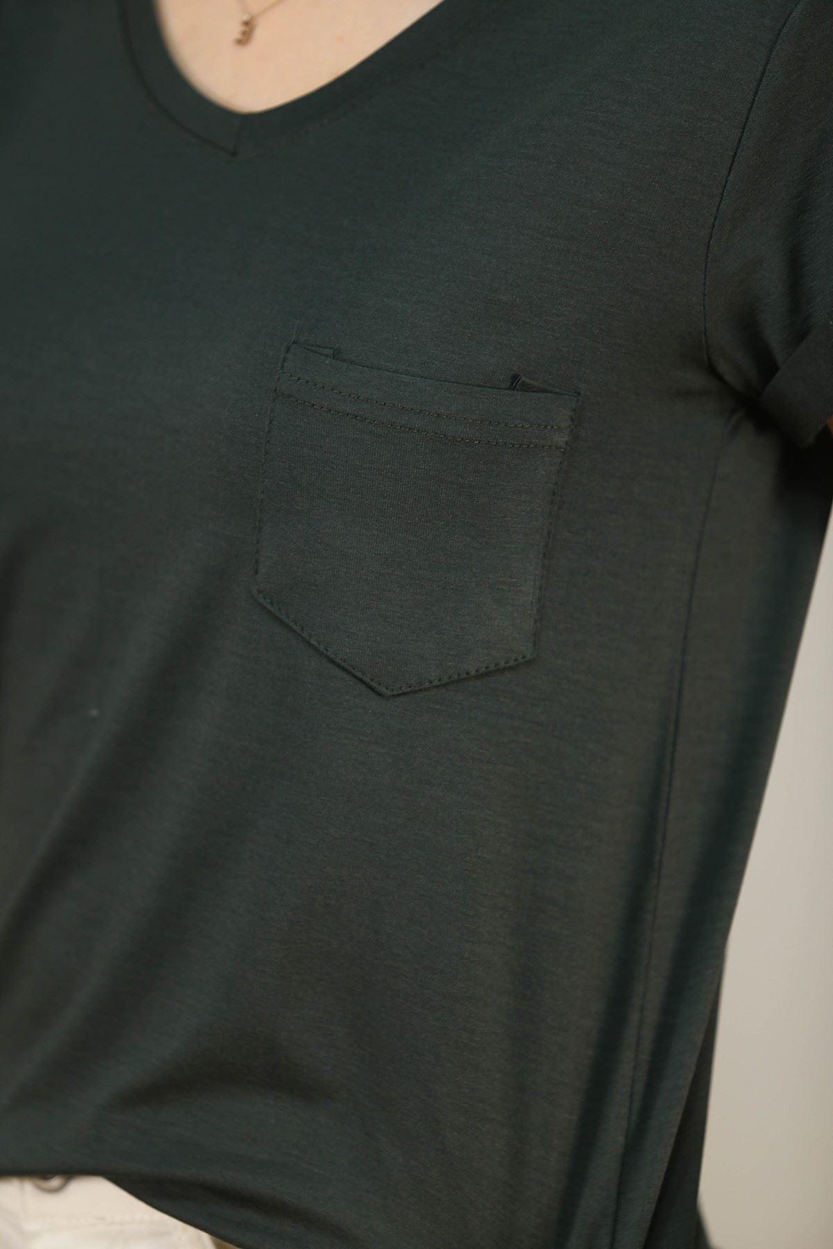 Cepli Bluz Yeşil - 1470.1095.