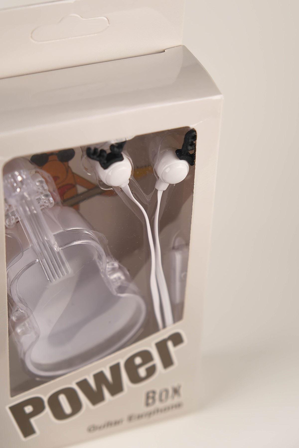 Gitar Kutulu Kulaklık Beyaz - 5062.1100.