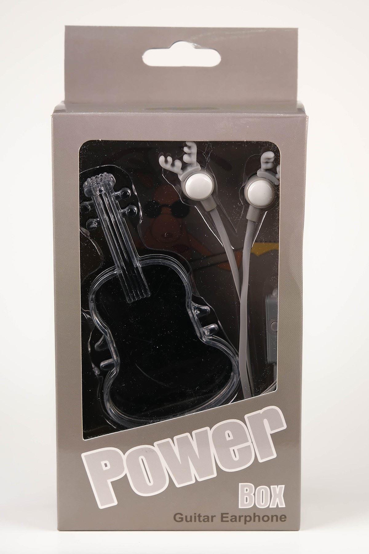 Gitar Kutulu Kulaklık Füme - 5062.1100.