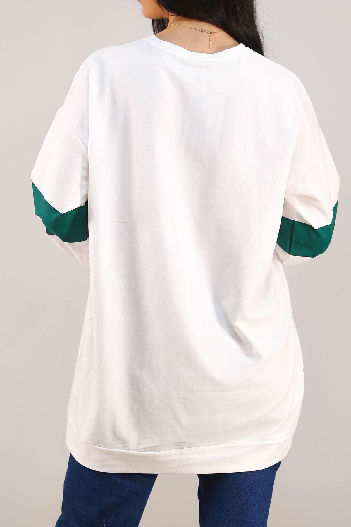 Baskılı Tunik Beyaz - 3162.105.
