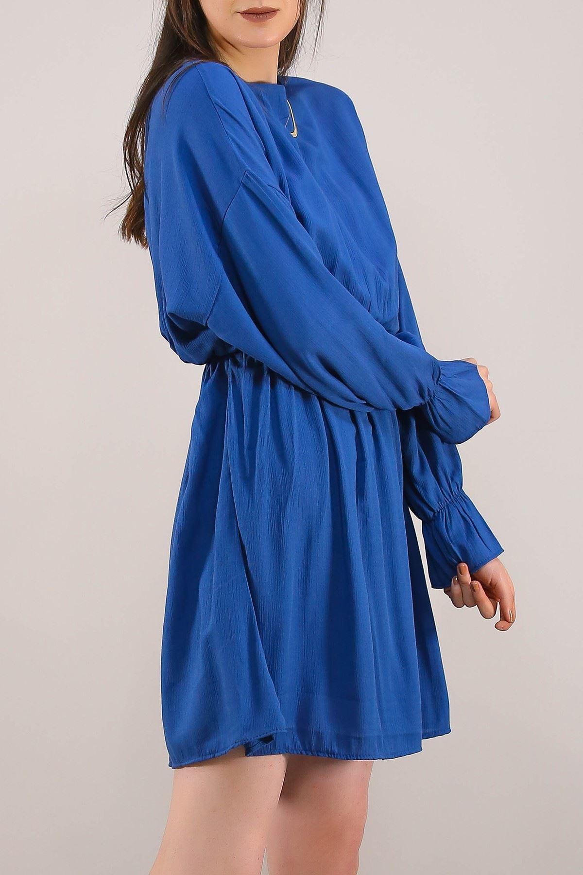 Dokuma Elbise Mavi - 5071.701.
