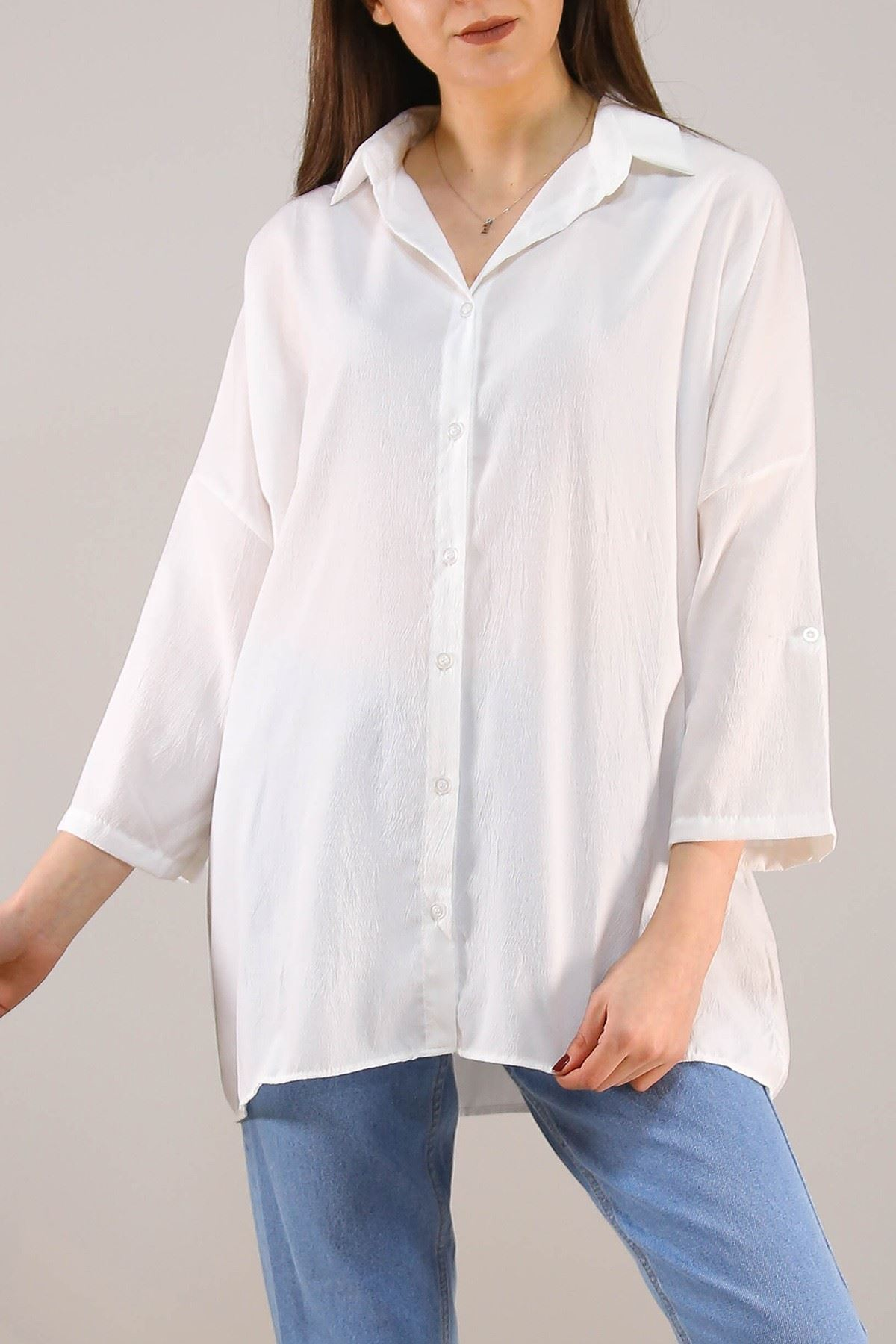 Salaş Gömlek Beyaz - 4806.701.