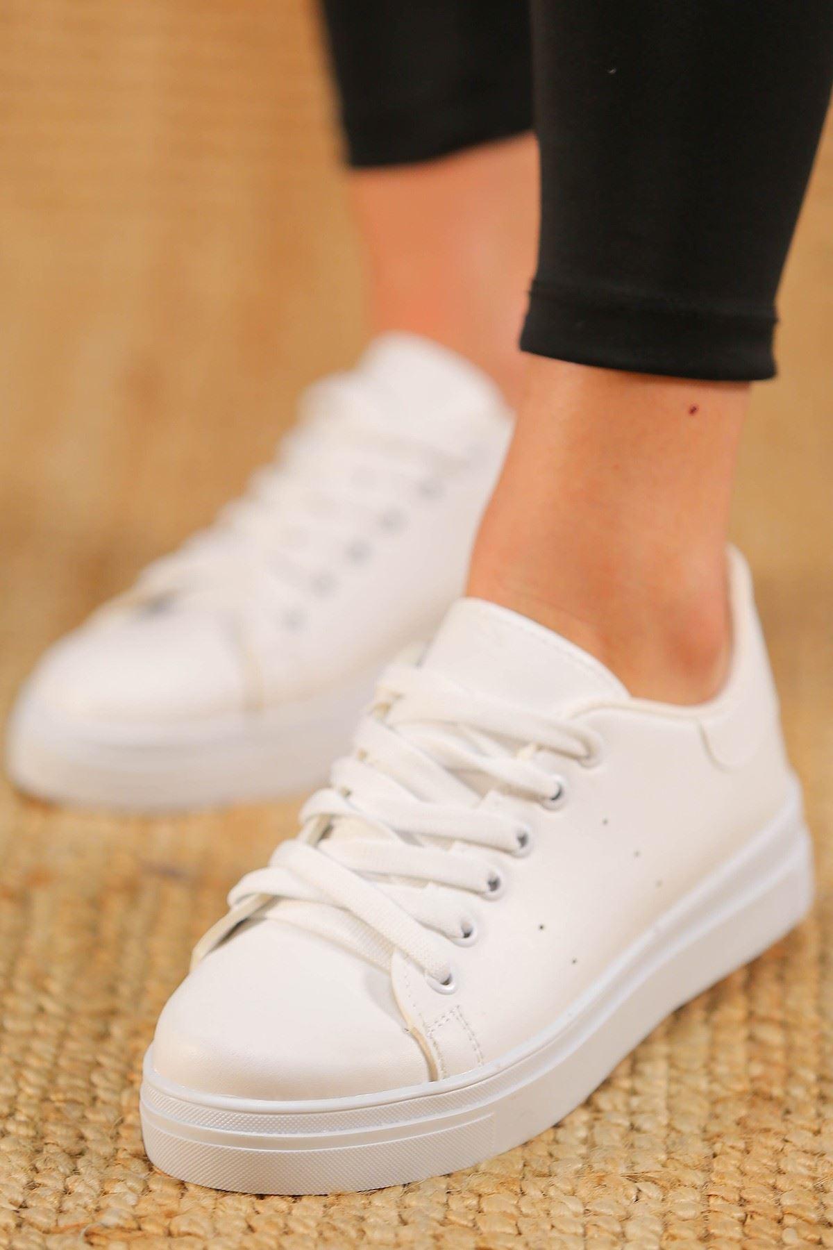 Kalın Tbn Günlük Ayakkabı Beyaz - 8585.264.