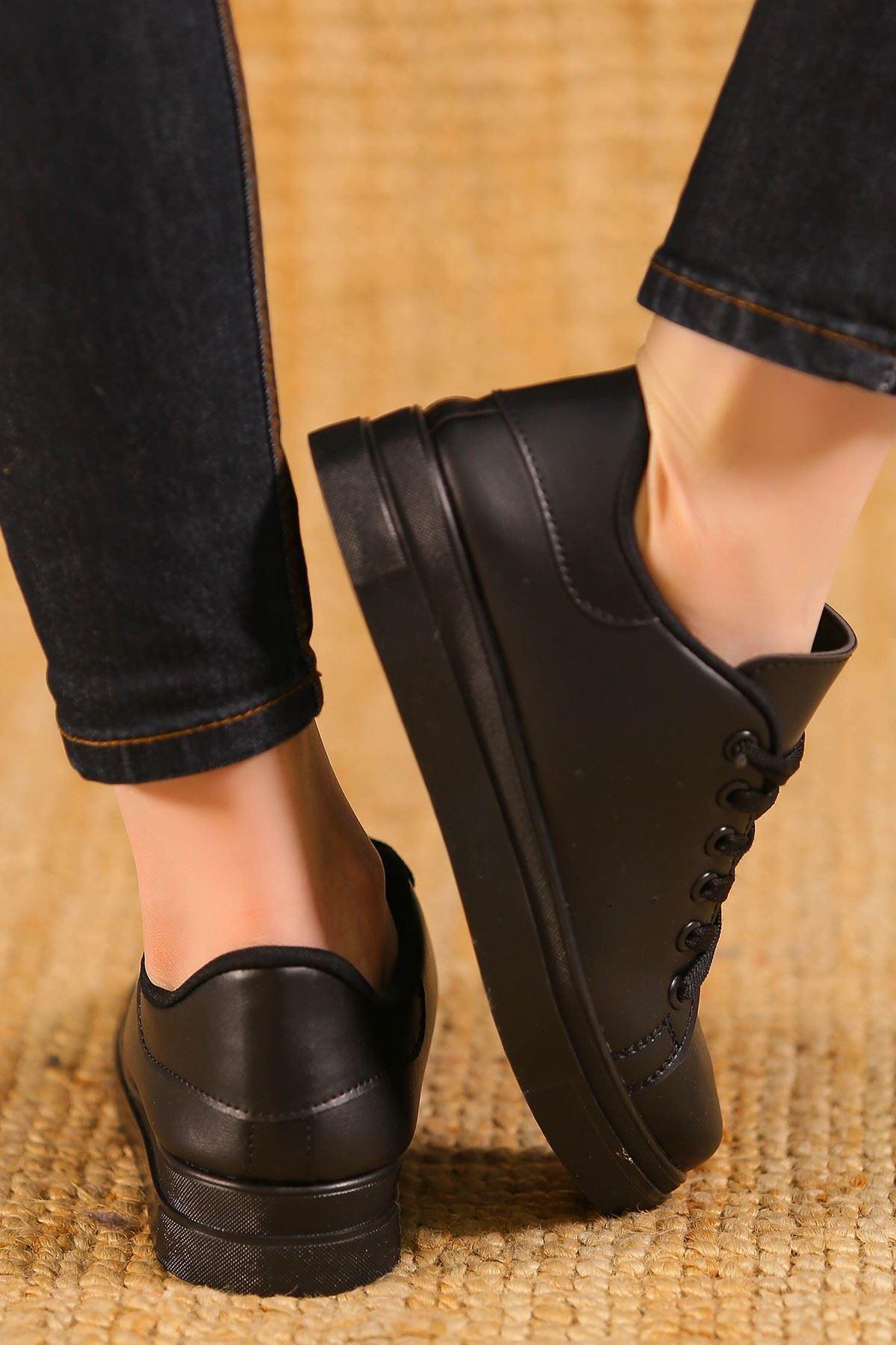 Kalın Tbn Günlük Ayakkabı Siyah - 8585.264.