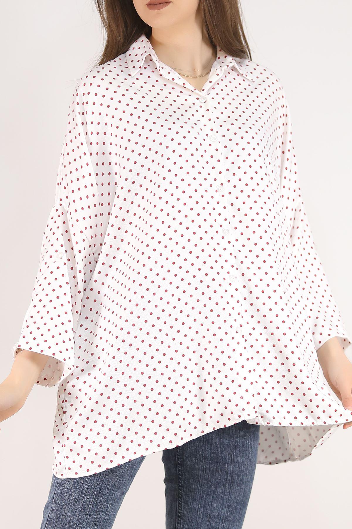 Salaş Gömlek Puanlıkırmızı - 4806.701.