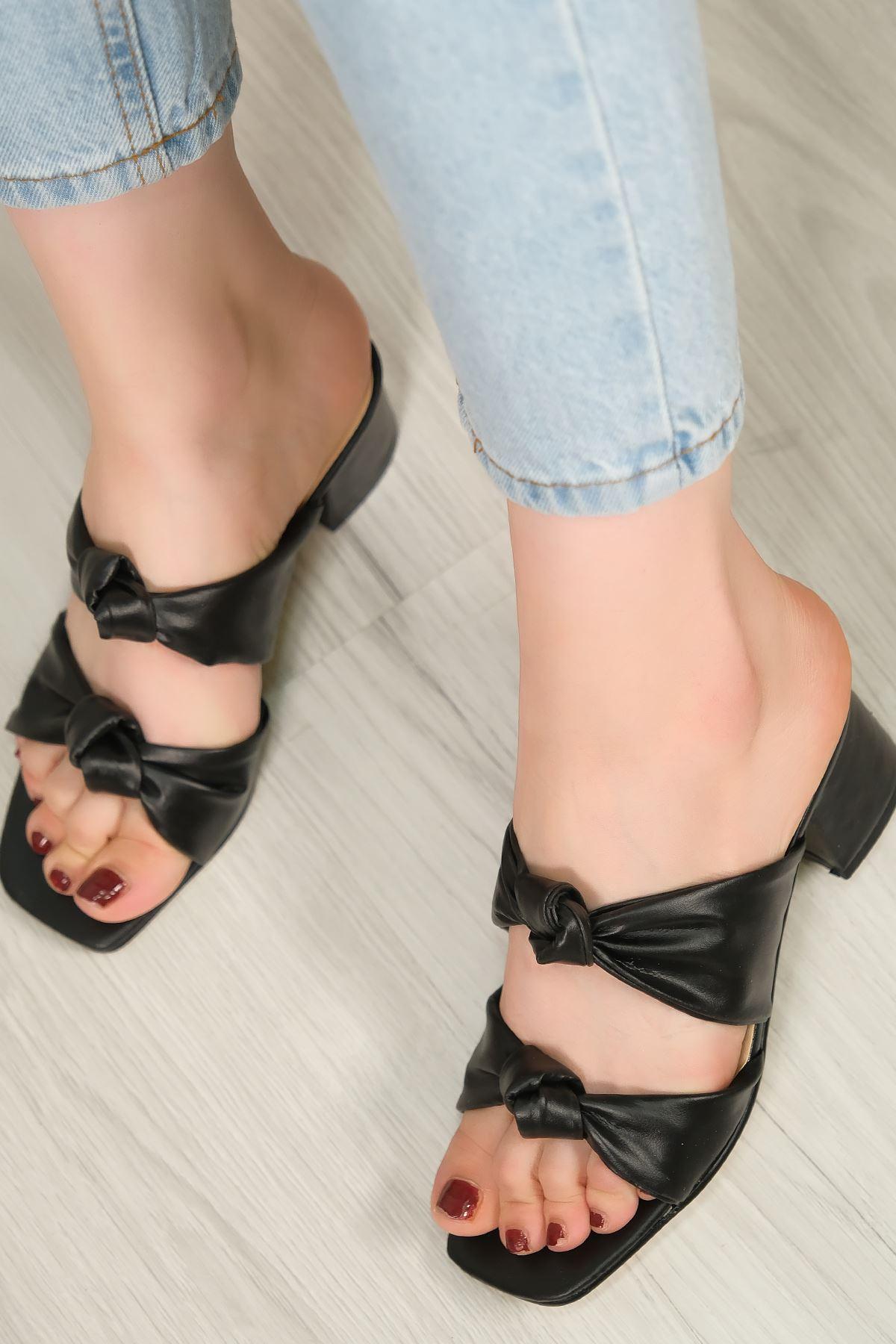 5 Cm Topuklu Ayakkabı Siyah - 5617.1370.