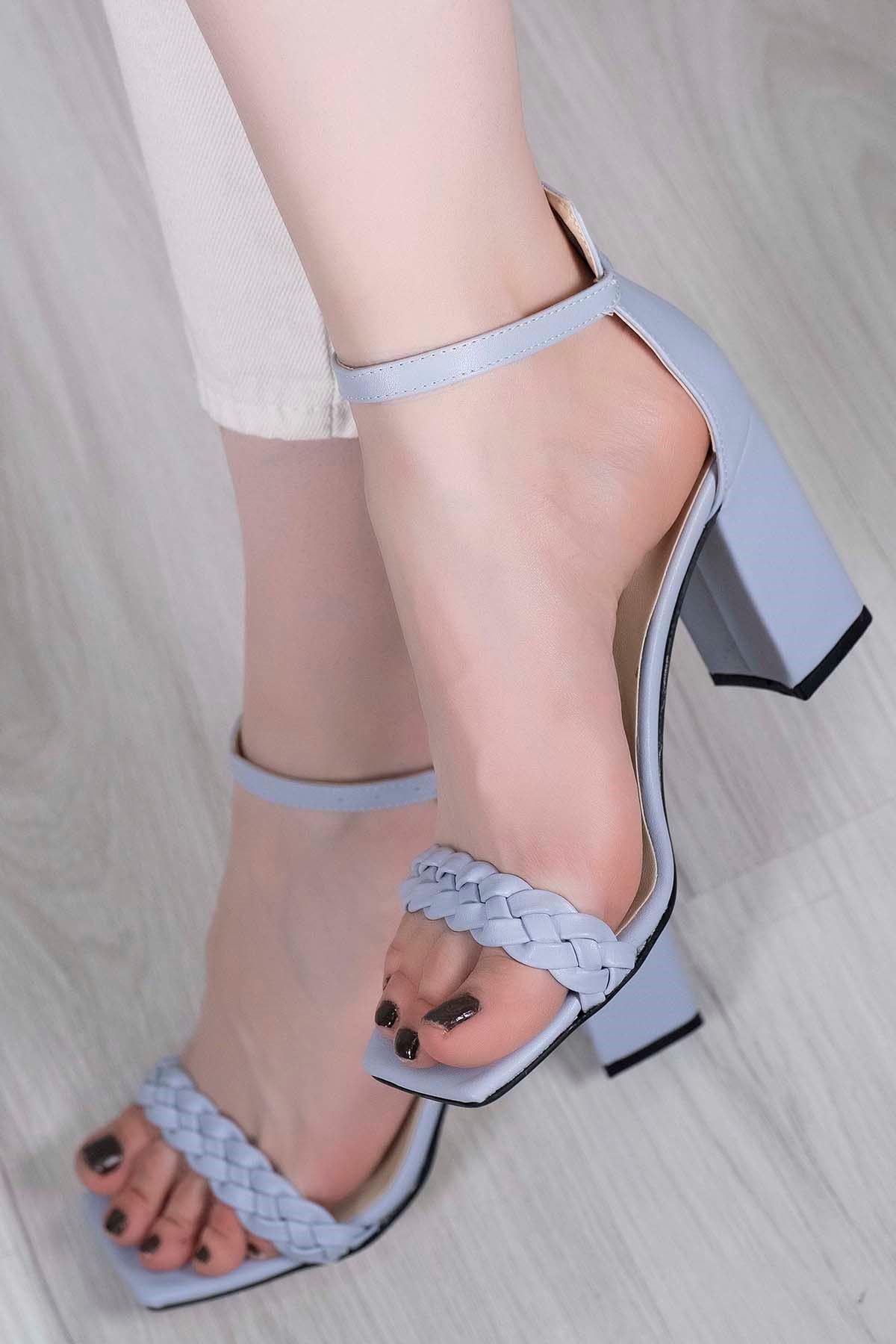 9 Cm Topuklu Ayakkabı Bebemavi - 5745.264.