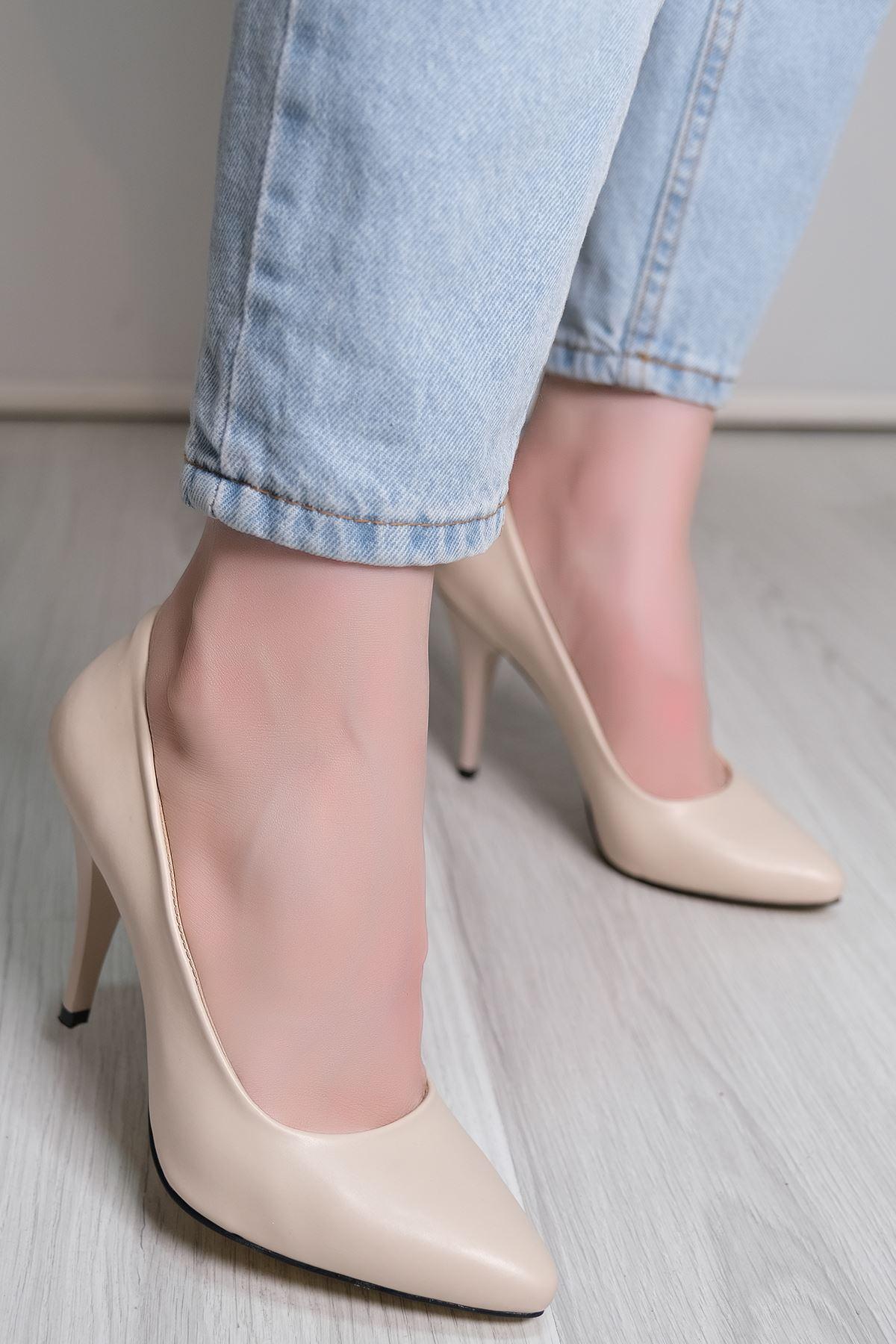 9Cm Topuklu Ayakkabı Ten - 5177.264.