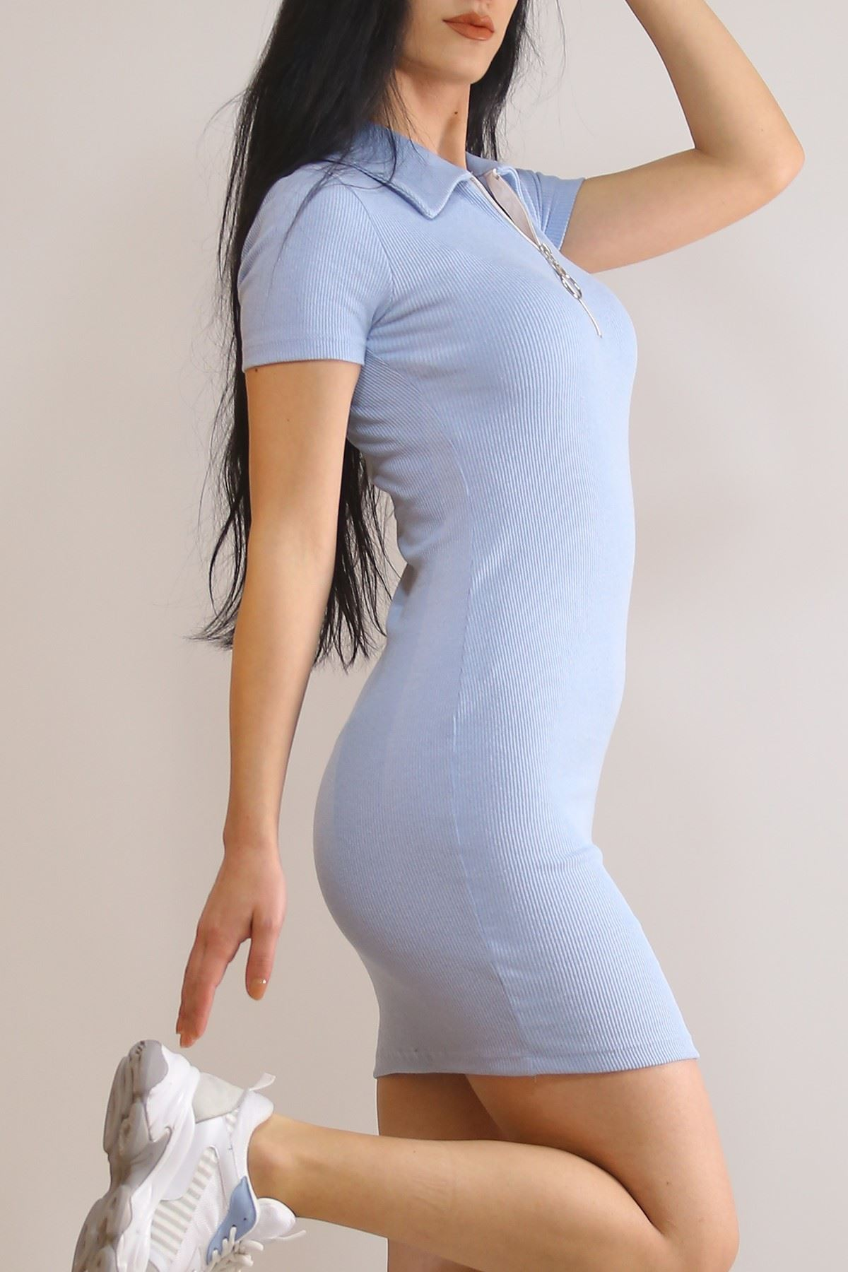 Kaşkorse Yakalı Elbise Bebemavi - 2392.159.
