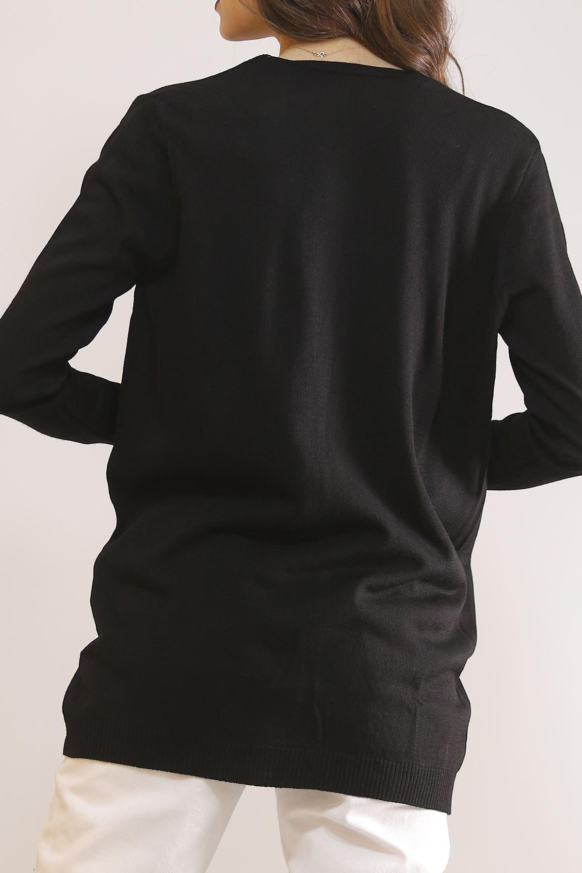 Cepli Hırka Siyah - 5093.109.