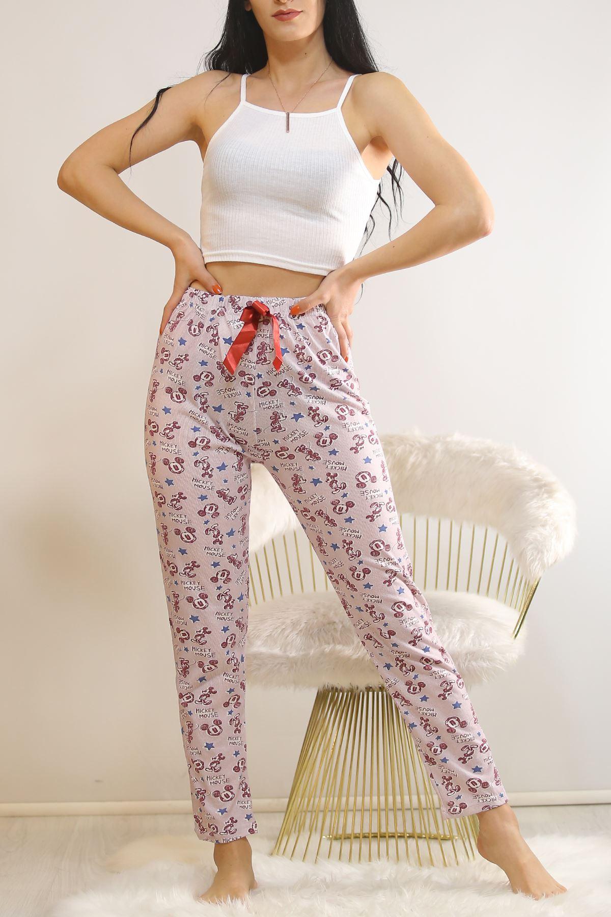 Desenli Pijama Altı Desenlibordo - 5518.919.