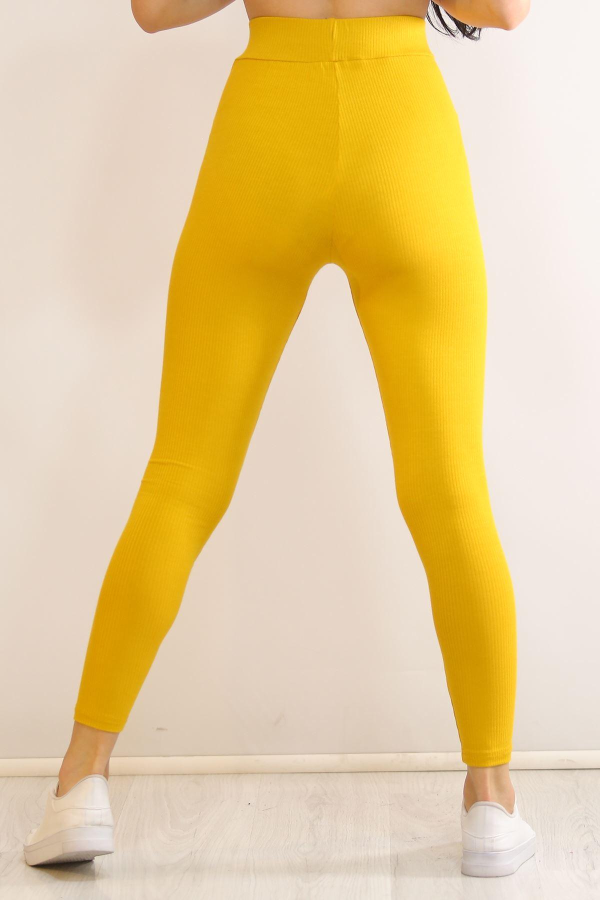 Kaşkorse Tayt Sarı - 5808.1247.