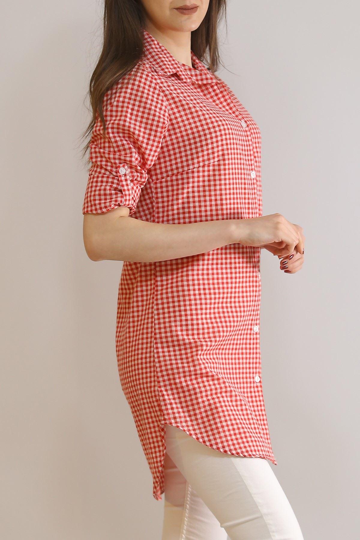 Tunik Gömlek Kırmızı - 5905.1376.