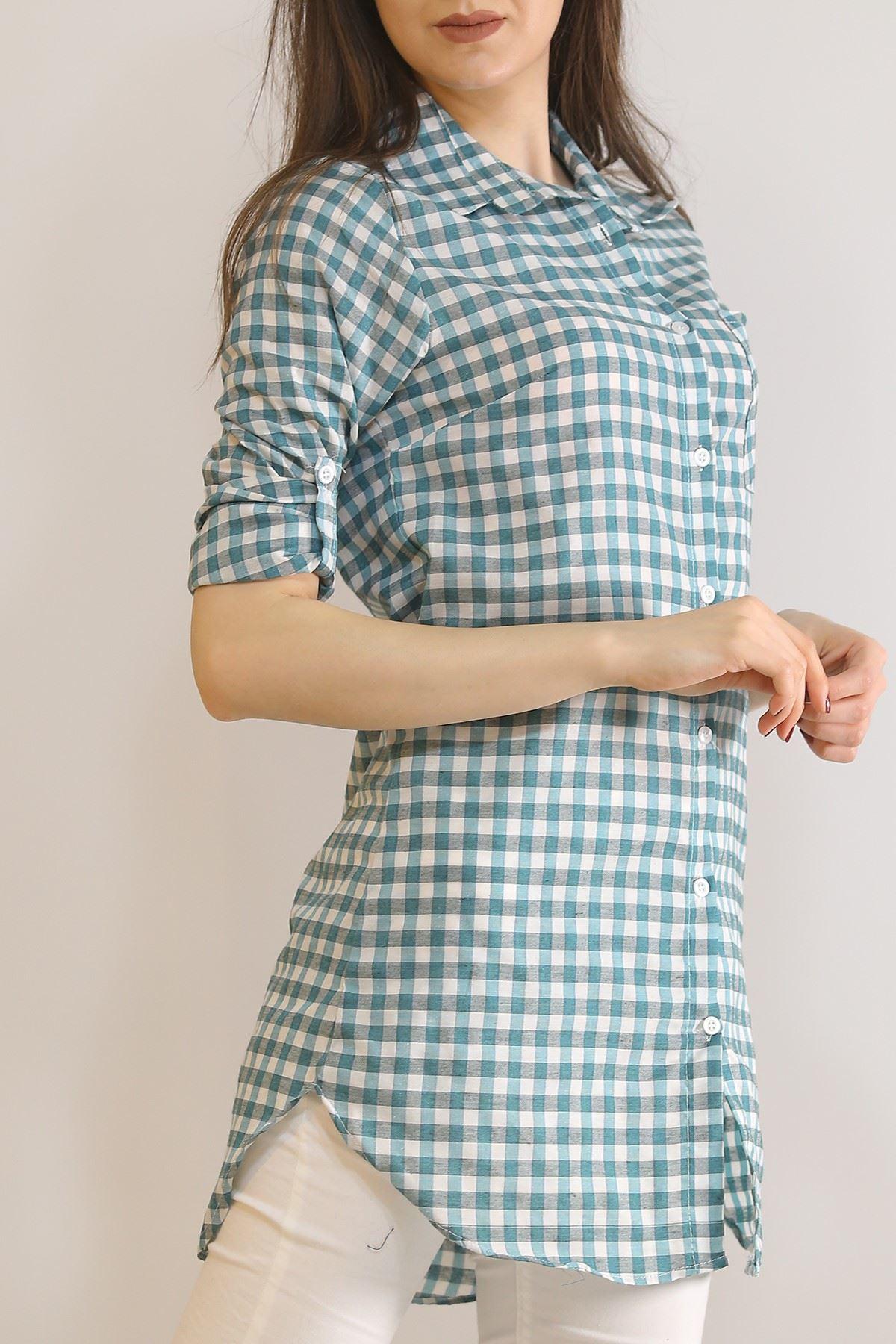Tunik Gömlek Yeşil - 5905.1376.