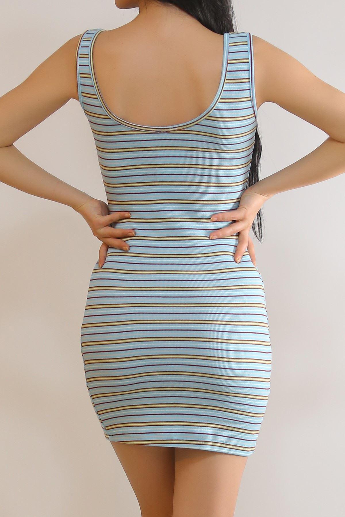 Kalın Askılı Elbise Bebemavi - 5938.1092.