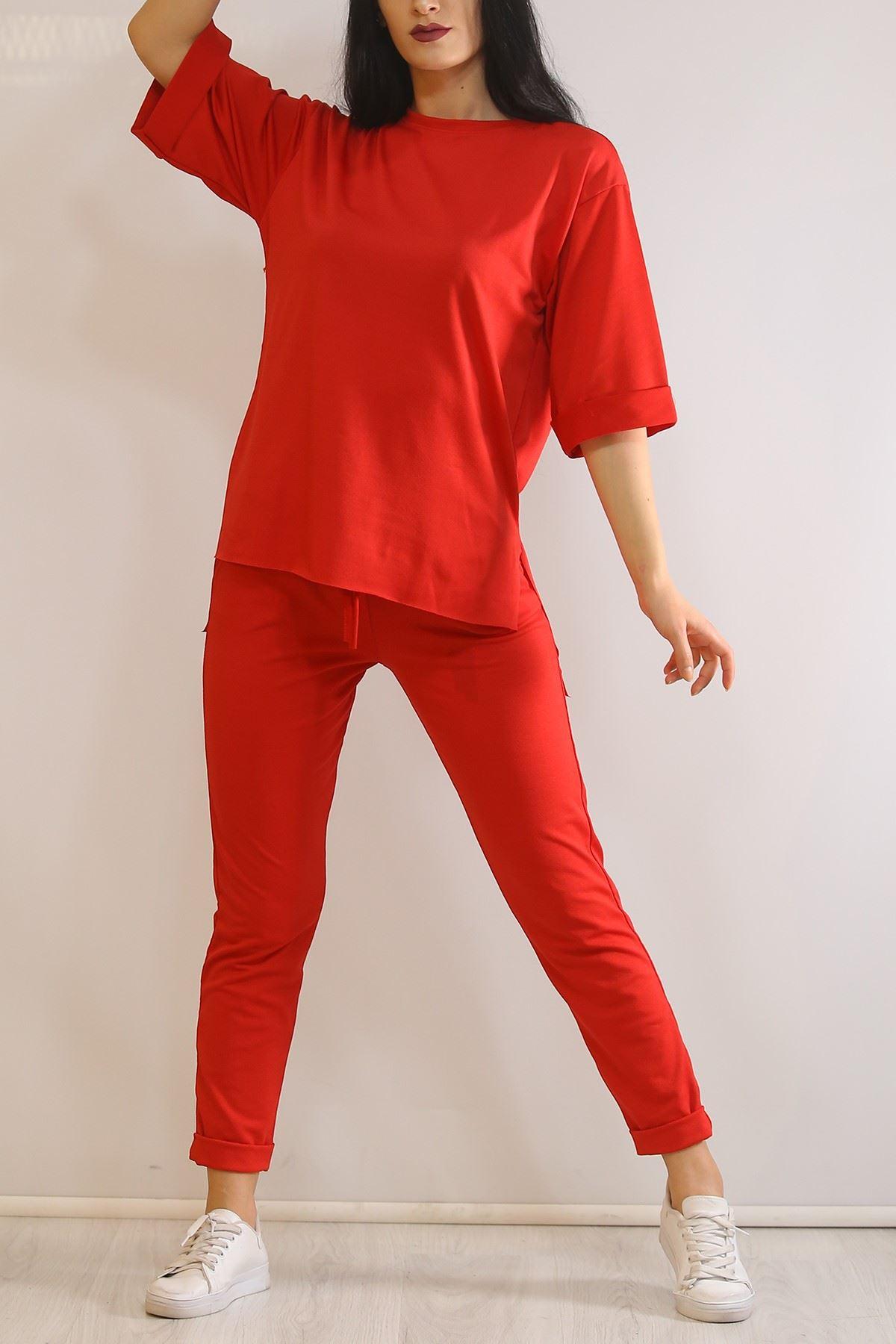 Duble Kol Takım Kırmızı - 5949.102.