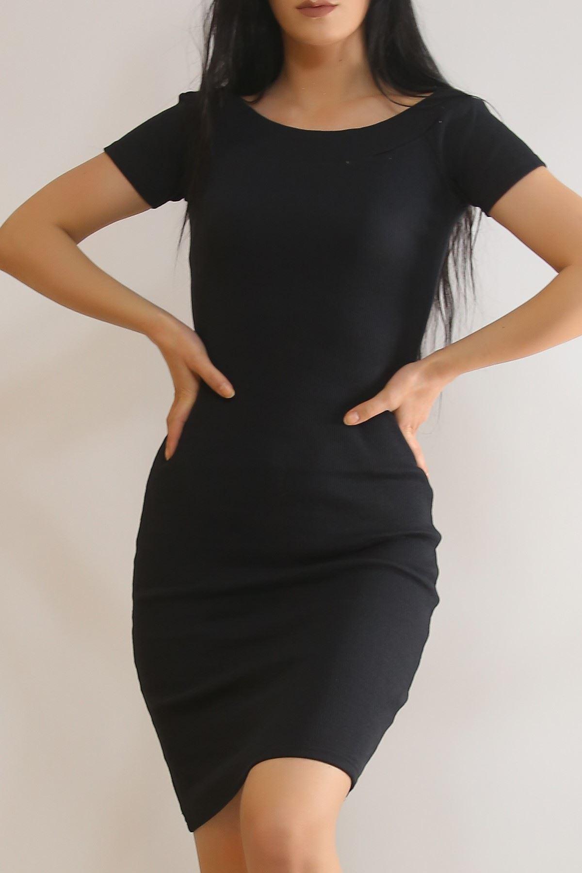 Madonna Elbise Siyah - 6401.316.