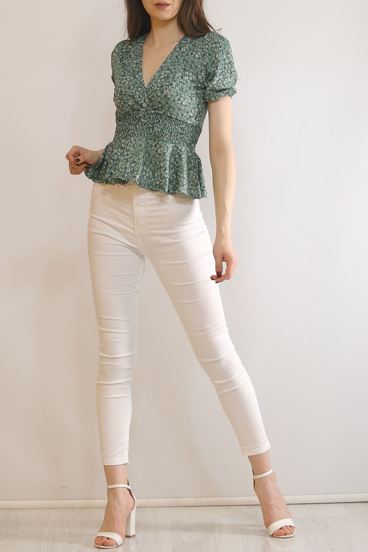 Kruvaze Bluz Mint - 6703.224.