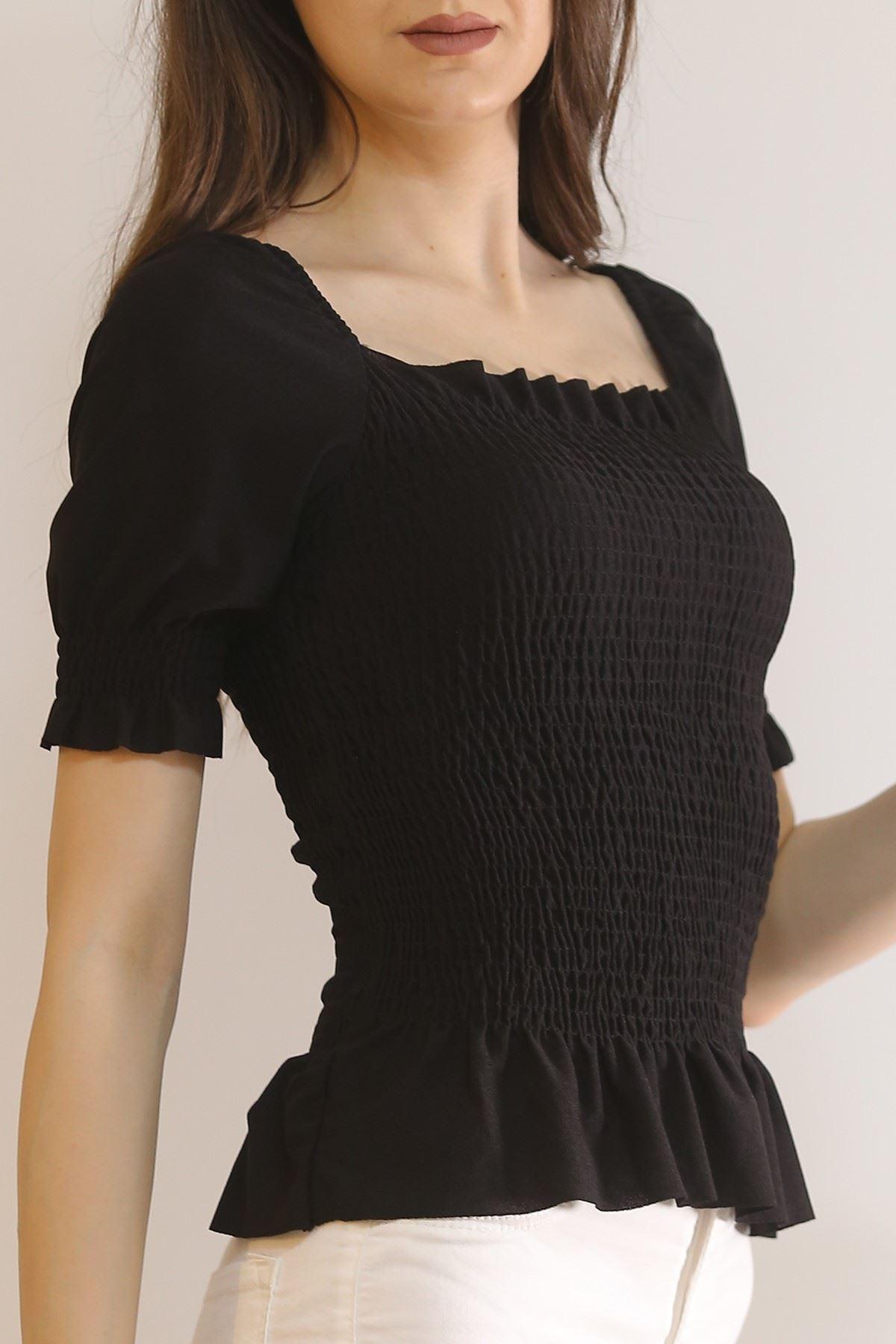 Gipeli Bluz Siyah - 6704.224.