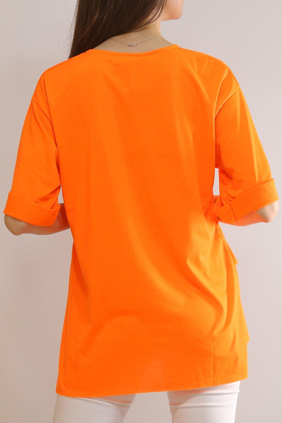 Duble Kol Tişört Oranj - 4994.336.