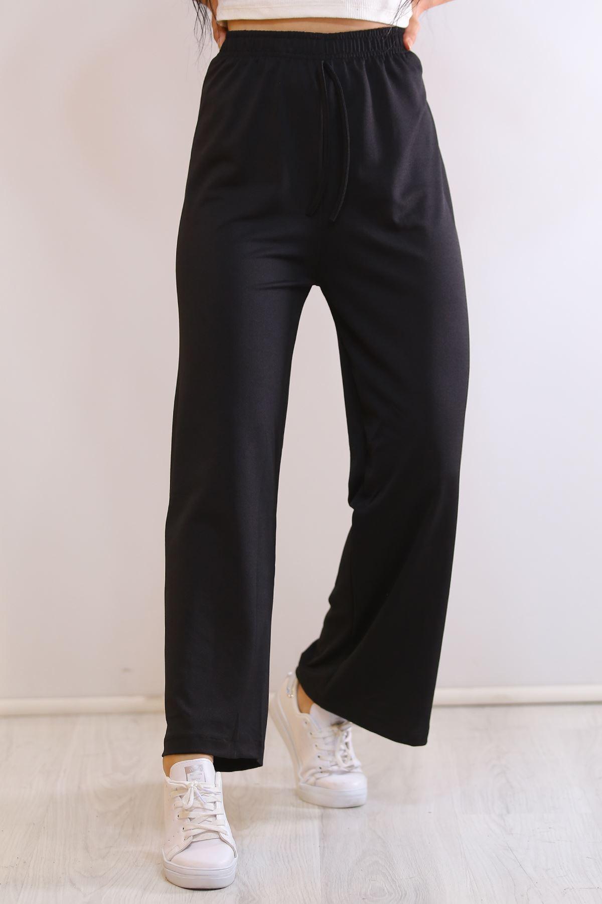 Örme Krep Pantolon Siyah - 19276.200.
