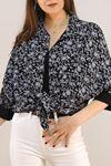 Salaş Gömlek Beyazçiçekli - 4806.701.