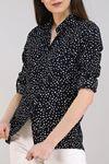 Desenli Gömlek Siyahpuanlı - 5087.128.