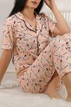 Düğmeli Pijama Takımı Desenlipudra - 4782.102.