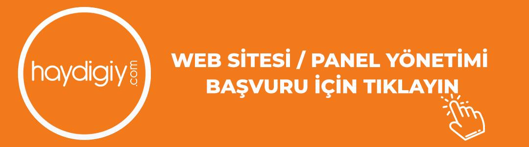 Websitesi yönetimi başvuru formu